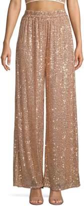 TFNC Sade Sequin Wide-Leg Pants