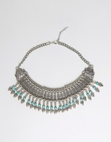 Raga Fringe Statement Necklace
