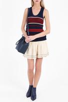 Etoile Isabel Marant Dully Striped Knit Tank