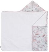 DwellStudio Printed Cotton Hooded Bath Towel