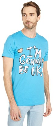 Depressed Monsters I'm Going To Be Ok Premium Tee (Teal) Clothing