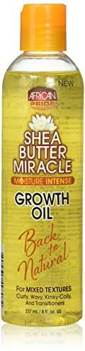African Pride Shea Butter Miracle Growth Oil 237 ml/8 fl.oz
