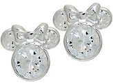 Disney 1.8cttw Diamonique Sterling Mickey or Minnie Stud Earrings