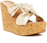 Callisto Rachel Knotted Strap Wedge Sandal (Women)
