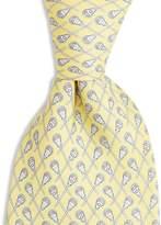 Vineyard Vines Boys' Lacrosse Print Silk Tie