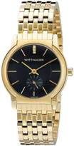 Wittnauer Women's WN4049 16mm Stainless Steel Gold Bracelet Watch