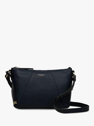 Radley Wood Street Medium Leather Zip Top Cross Body Bag