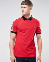 Fred Perry Belgium Polo Shirt In Red