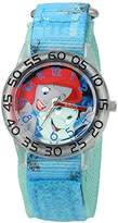 Disney Girl's 'Ariel' Quartz Plastic and Nylon Watch