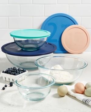 Pyrex 8-Pc. Mixing Bowl Set
