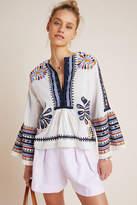 Antik Batik Juliet Embroidered Blouse