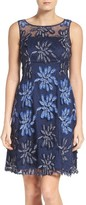 Adrianna Papell Petite Women's Fit & Flare Dress