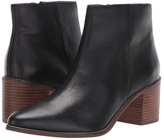 Seychelles For The Occasion (Black Leather) Women's Boots