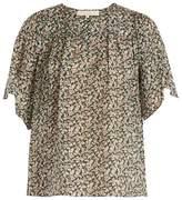 Vanessa Bruno Glory floral-print silk blouse