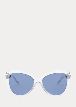 Ralph Lauren Chain Butterfly Sunglasses