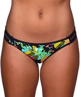 Body Glove Women's Akela Bali Mid Coverage Bikini Bottom