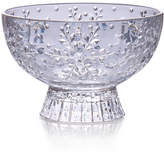 Mikasa Winter Flurries Footed Glass Candy Bowl