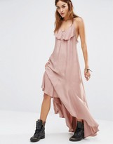 Religion Ruffle Maxi Cami Dress