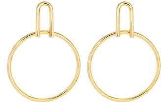 Panacea U Top Hoop Earrings