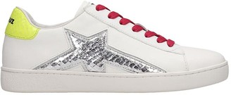 Lola Cruz Sneakers In White Leather