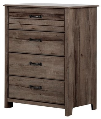 South Shore Ulysses 4-Drawer Chest, Multiple Finishes