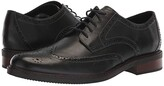 Bostonian Maxton Wing (Black Leather) Men's Shoes