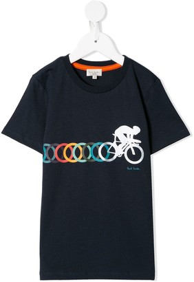 Paul Smith bicycle print T-shirt