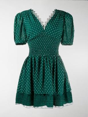 Self-Portrait Polka Dot Dress