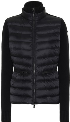 Moncler Wool and cashmere down jacket