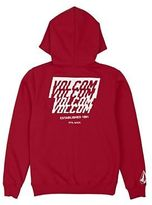Volcom Hoodies Supply Stone Zip Hoody - True Red