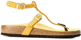 Birkenstock Studded Cork Sole Sandals