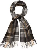 Saks Fifth Avenue Men's Cashmere Classic Plaid Scarf