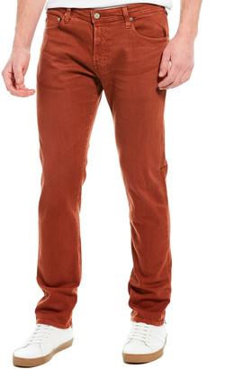 AG Jeans The Tellis 7 Years Orange Modern Slim Leg