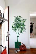 Blik Olive Tree Wall Stickers in Dark Green and Kiwi