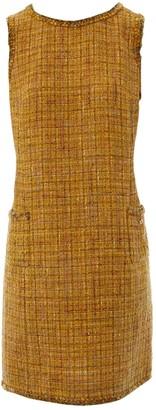 Chanel Yellow Wool Dresses