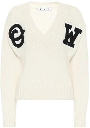 Off-White Alpaca-blend sweater