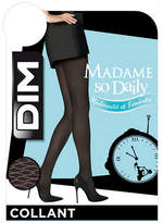 Dim Ondes Opaque Pattern Tights