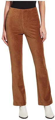 Lysse Alma Baby Bootcut Pants in Stretch Baby Corduroy (Camel) Women's Casual Pants