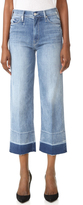 Mother Undone Hem Maverick Jeans