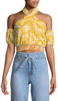 Tularosa Spencer Cropped Halter Top