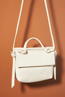 Anthropologie Livia Crossbody Bag By in White Size ALL