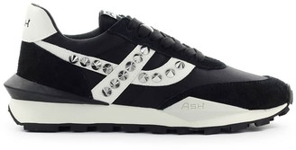 Ash Spider Studs Black Sneaker