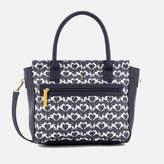 Joules Women's Day To Day Print Shoulder Bag - Navy Fox Terrier Geo