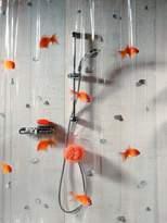 Spirella Goldfish Shower Curtain - 180 x 200 cm