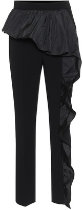 Max Mara Elegante Etna high-rise cady pants