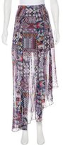 Mara Hoffman Silk Printed Skirt