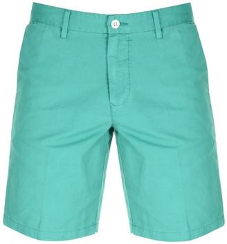 Gant Cotton Linen Shorts Green