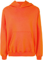 MSGM printed hood sweatshirt