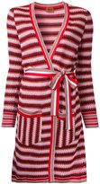 Missoni zig-zag belted cardi-coat
