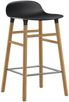 Normann Copenhagen Form Barstool - Oak - Black